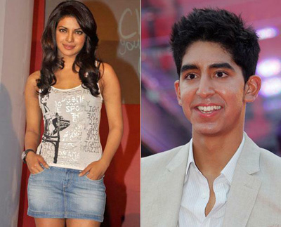 Priyanka Chopra and Dev Patel